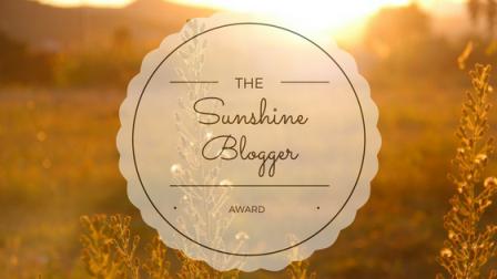 Award | The SunshineBlogger
