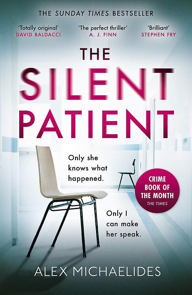 The Silent Patient by Alex Michaelides: Review★★★★.5